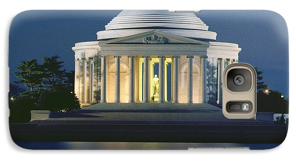 The Jefferson Memorial Galaxy S7 Case by Peter Newark American Pictures