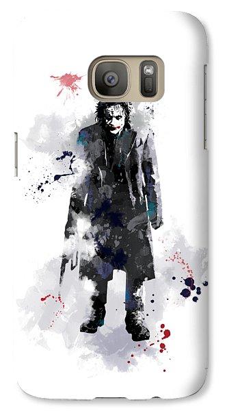 The Joker Galaxy S7 Case by Marlene Watson