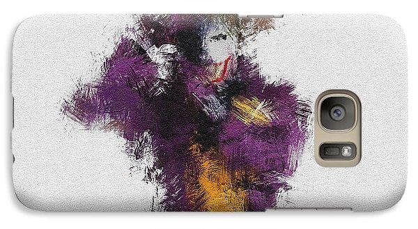 The Joker Galaxy S7 Case by Miranda Sether