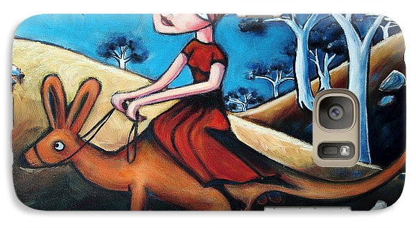 The Journey Woman Galaxy Case by Leanne Wilkes