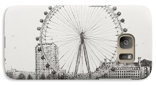 The London Eye Galaxy S7 Case by Vincent Alexander Booth