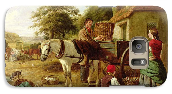 The Market Cart Galaxy Case by Henry Charles Bryant