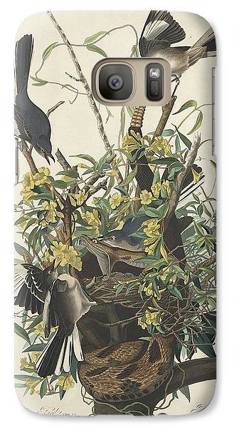 The Mockingbird Galaxy S7 Case by John James Audubon