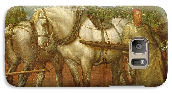 The Noonday Rest  Galaxy Case by George Frederick Watts