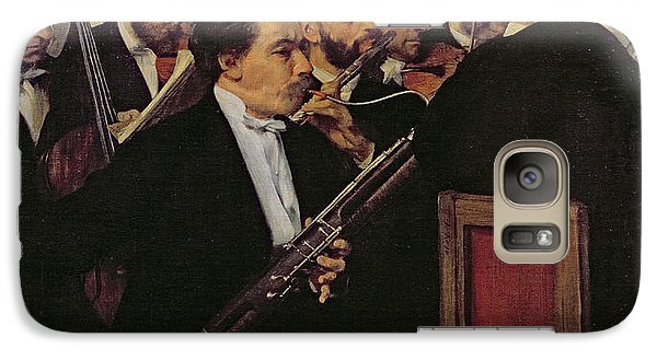 The Opera Orchestra Galaxy Case by Edgar Degas