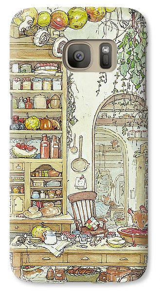 The Palace Kitchen Galaxy Case by Brambly Hedge