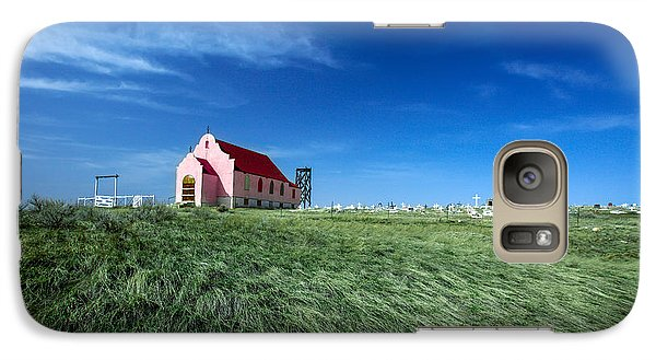 The Pink Church Galaxy Case by Todd Klassy