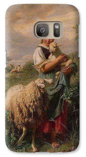 The Shepherdess Galaxy Case by Johann Baptist Hofner
