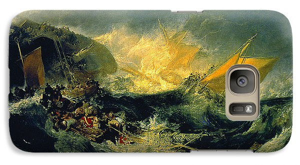 The Shipwreck Of The Minotaur Galaxy S7 Case by MotionAge Designs