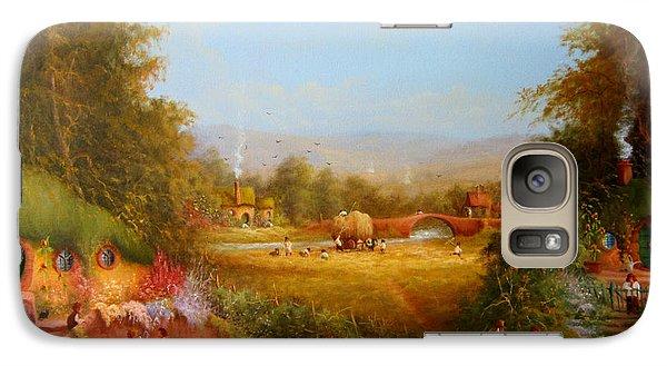 The Shire. Galaxy Case by Joe  Gilronan