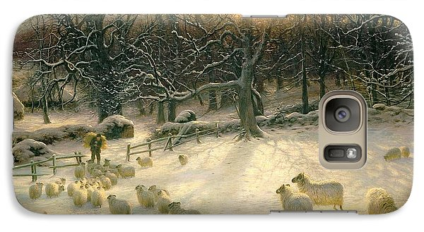 The Shortening Winters Day Is Near A Close Galaxy Case by Joseph Farquharson