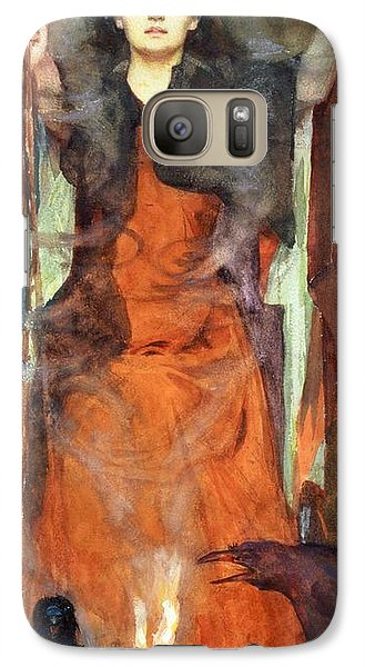 The Sorceress Galaxy S7 Case by Henry Meynell Rheam