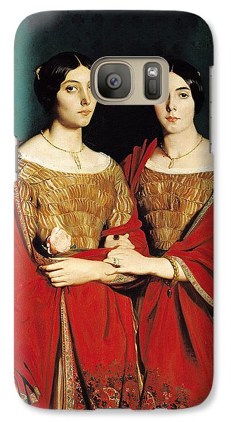 The Two Sisters Galaxy Case by Theodore Chasseriau