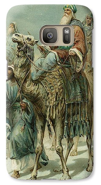 The Wise Men Seeking Jesus Galaxy S7 Case by Ambrose Dudley
