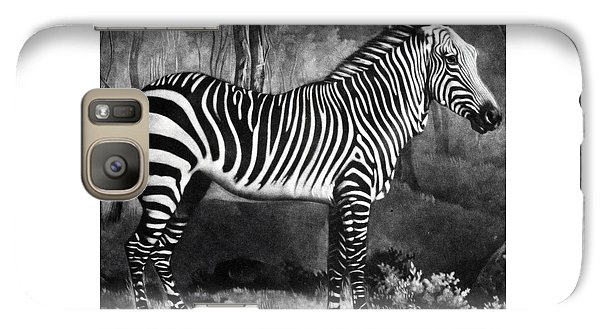 The Zebra Galaxy S7 Case by George Stubbs
