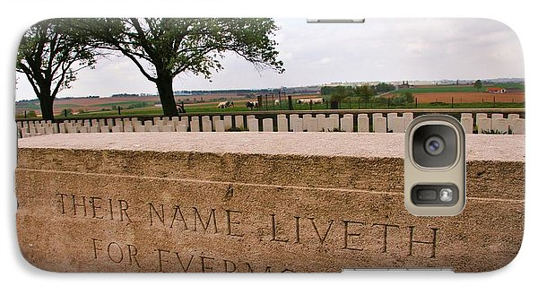 Galaxy Case featuring the photograph Their Name Liveth For Evermore by Travel Pics