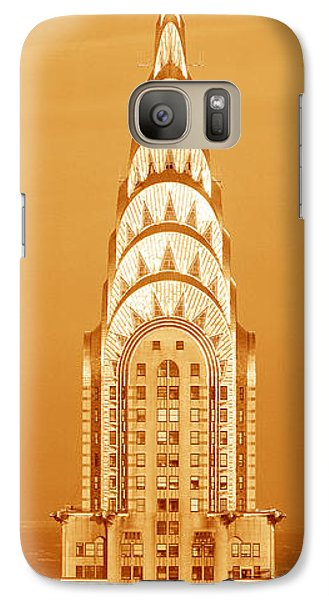 This Is A Sepiatone Close Galaxy S7 Case by Panoramic Images