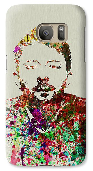 Thom Yorke Galaxy S7 Case by Naxart Studio