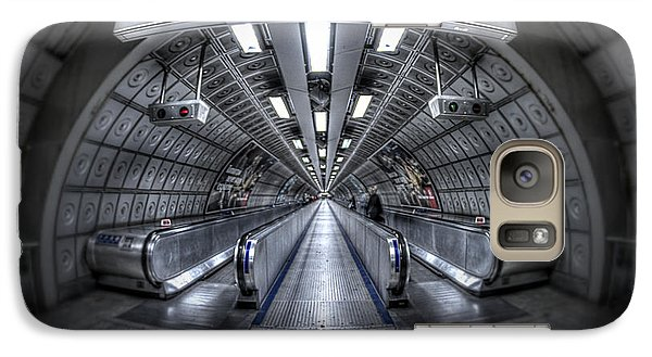 Through The Tunnel Galaxy Case by Evelina Kremsdorf