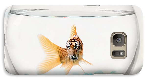 Tiger Fish Galaxy Case by Juli Scalzi