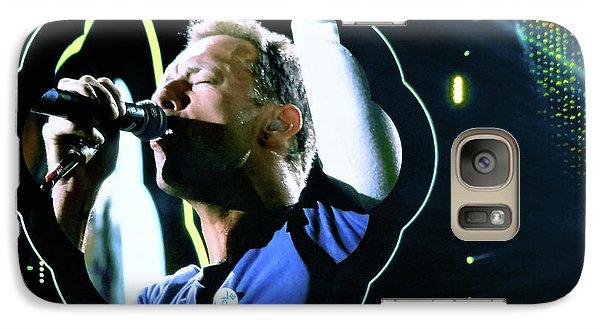 Chris Martin - A Head Full Of Dreams Tour 2016  Galaxy S7 Case by Tanya Filichkin