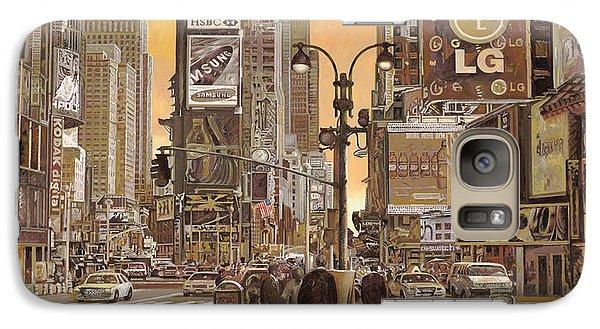 Times Square Galaxy Case by Guido Borelli