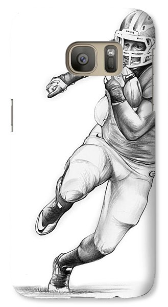 Todd Gurley Galaxy S7 Case by Greg Joens