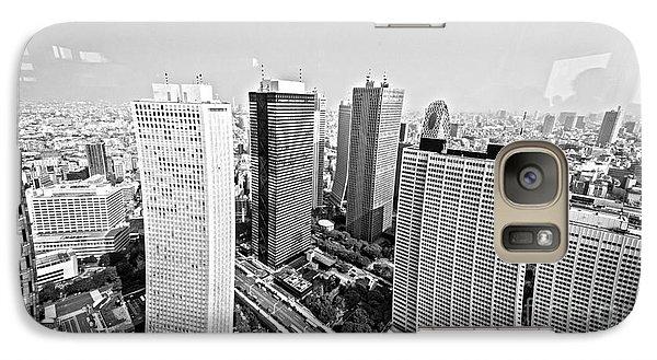 Tokyo Skyline Galaxy S7 Case by Pravine Chester
