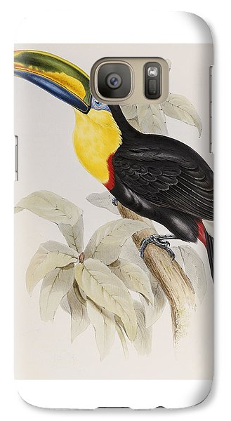 Toucan Galaxy S7 Case by John Gould