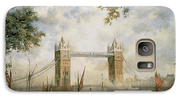 Tower Bridge - From The Tower Of London Galaxy Case by Richard Willis