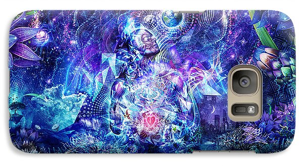 Transcension Galaxy Case by Cameron Gray