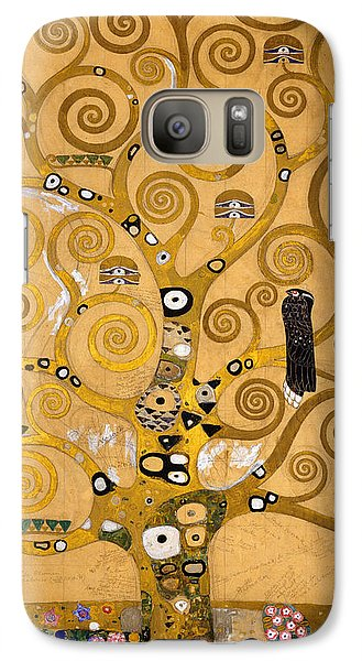Tree Of Life Galaxy Case by Gustav Klimt