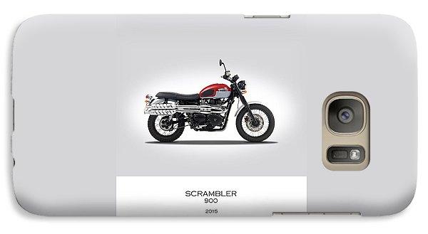 Triumph Scrambler 2015 Galaxy S7 Case by Mark Rogan
