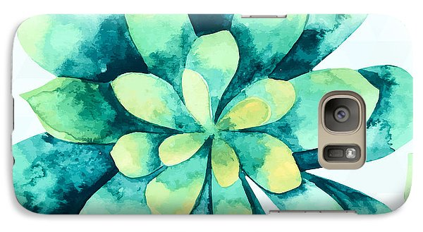 Tropical Flower  Galaxy S7 Case by Mark Ashkenazi