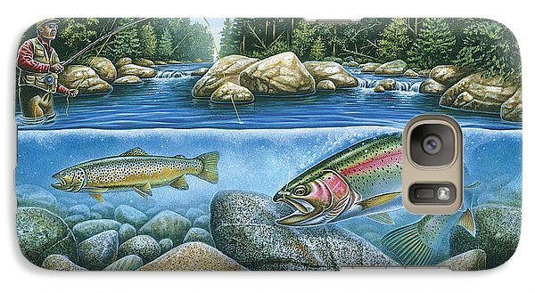 Trout View Galaxy S7 Case by JQ Licensing
