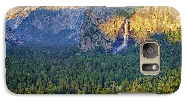 Tunnel View At Sunset Galaxy Case by Rick Berk