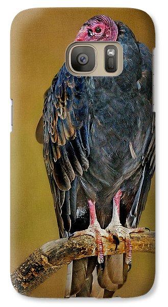 Turkey Vulture Galaxy S7 Case by Nikolyn McDonald