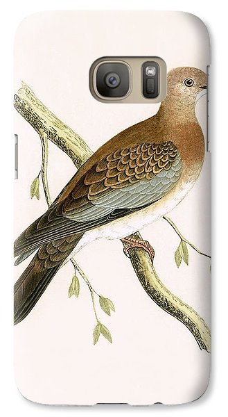 Turtle Dove Galaxy S7 Case by English School