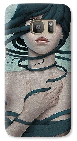 Twisted Galaxy S7 Case by Diego Fernandez