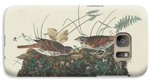 Two-colored Sparrow Galaxy S7 Case by John James Audubon
