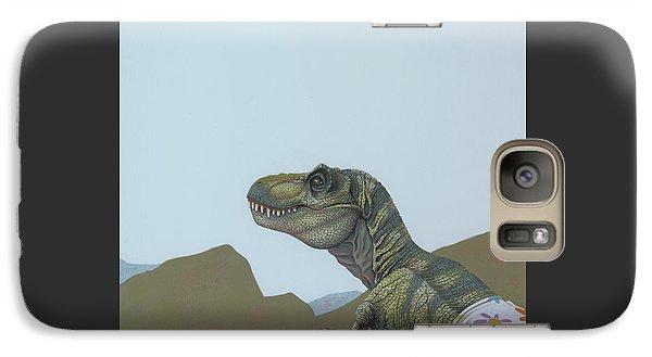 Tyranosaurus Rex Galaxy Case by Jasper Oostland