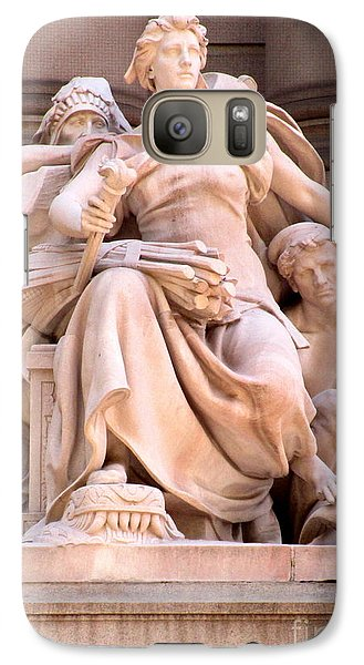 U S Custom House 4 Galaxy S7 Case by Randall Weidner