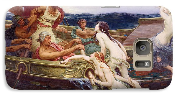 Ulysses And The Sirens Galaxy Case by Herbert James Draper