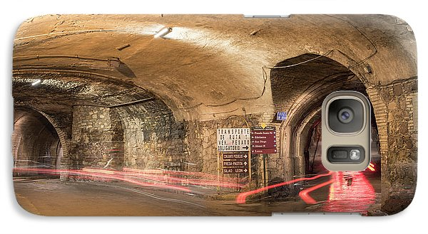 Underground Tunnels In Guanajuato, Mexico Galaxy S7 Case by Juli Scalzi