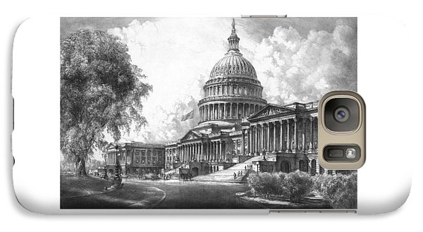 United States Capitol Building Galaxy Case by War Is Hell Store