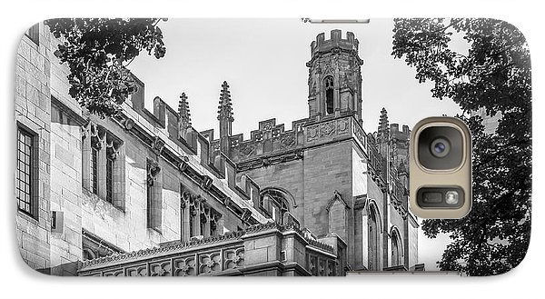 University Of Chicago Collegiate Architecture Galaxy S7 Case by University Icons