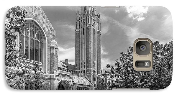 University Of Chicago Saieh Hall For Economics Galaxy S7 Case by University Icons