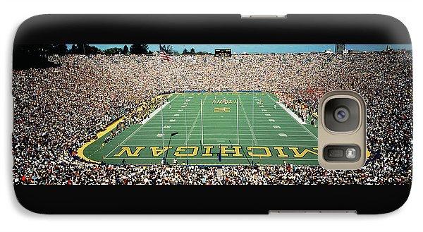 University Of Michigan Stadium, Ann Galaxy S7 Case by Panoramic Images
