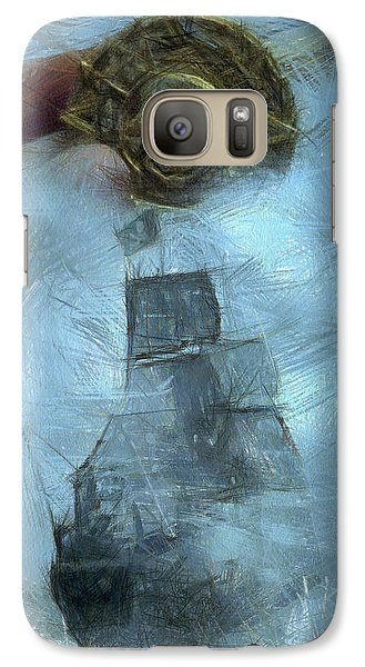 Unnatural Fog Galaxy Case by Benjamin Dean