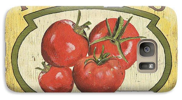 Veggie Seed Pack 3 Galaxy Case by Debbie DeWitt